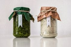 Wild Garlic Salt & Pesto (Student Project) on Packaging of the World - Creative Package Design Gallery