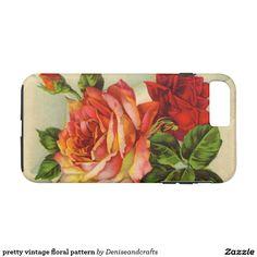 pretty vintage floral pattern