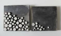 Raku ceramic tiles - ceramic wall art sculpture- raku picture cm.18x18 on Etsy, $123.92 AUD
