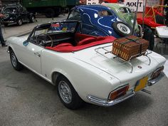 fiat 124 spider  Mine didn't have the rack