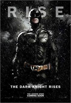 El caballero oscuro. La leyenda renace : Cartel Batman (2012)