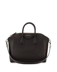 356d031dfa59 Antigona Medium Sugar Goatskin Satchel Bag by Givenchy at Neiman Marcus.