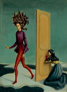 Max Ernst, Magritte, Figure Painting, Painting & Drawing, Jewish Museum, Illustration Art, Illustrations, Surrealism Painting, Color Stories