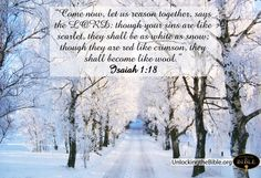 pictures of bible verse kjv   Isaiah 1:18 - Nothing Is Impossible To Him Wallpaper - Christian ...