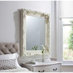 Buy Carved Louis Mirror Cream 120 X 895cm Online At Johnlewis