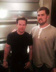 Mark Wahlberg & Marcus Luttrell.