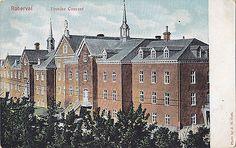 Couvent des Ursulines a Roberval entre 1903-1915 par J.H Coté
