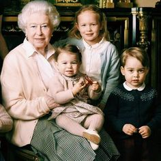 Clearer shot of Princess Charlotte and Prince George with the Queen . #royalfamily #katemiddleton #princewilliam #princegeorge #princesscharlotte #dukeofcambridge #duchessofcambridge #london #monarchy #england #english #british #britishmonarchy #britishroyalfamily #photooftheday #love #l4l #happy #cute #gorgeous #amazing #beautiful #lovely #pretty #bestcouple #adorable #instadaily #baby #instapic #katemiddletonroyally