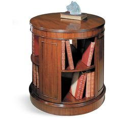 Round Mahogany Revolving Bookstand | Bookcases | Cabinets, Bookcases U0026  Chests | Furniture | ScullyandScully