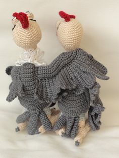 Buzzie the Vulture Amigurumi Crochet Pattern by IlDikko on Etsy