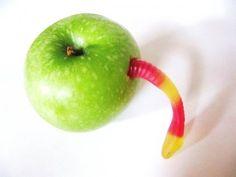 Snoep verstandig, eet een appel!