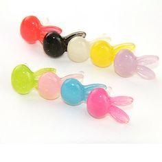 Coelho Cabeça Plastic Anti-Poeira Earphone Jack (Assorted Color) – BRL R$ 2,56