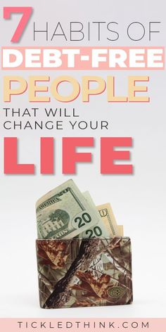 Struggling to get out of debt? Wondering how some people stay debt free? Read on to learn the key habits of debt free people that you need to adapt, to help you get out of debt, live debt free and achieve financial freedom! Financial Peace, Financial Tips, Financial Planning, Debt Free Living, Get Out Of Debt, Savings Plan, Debt Payoff, Debt Repayment, Debt Consolidation