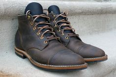 Beautiful Viberg custom service boot
