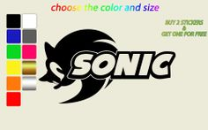 wall stickers sonic the hedgehog and hedgehogs on pinterest sonic wall mural vinyl decal sticker kids room s 645