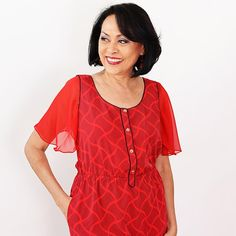 Red Attachable Flutter Sleeves – Sleeves 2 Go Red Chiffon, Bra Straps, Flutter Sleeve, Cold Shoulder Dress, Pretty, Sleeves, Dresses, Products, Fashion