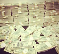 #Money where you need to think, and not work.