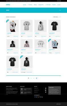 Mana - Stylish eCommerce Theme - #shop #ecommerce #theme #template #wordpress