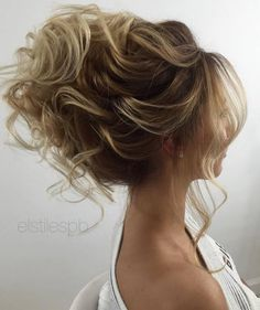 Elstile wedding hairstyles for long hair 39 - Deer Pearl Flowers / http://www.deerpearlflowers.com/wedding-hairstyle-inspiration/elstile-wedding-hairstyles-for-long-hair-39/