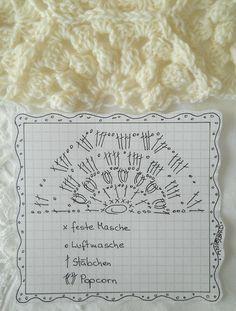 Crochet Half Hexagon - Chart