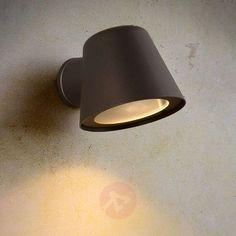 Anthracite LED outdoor wall light Dingo GU10 | Lights.ie