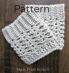 Elegant 40 Creative Ideas Of Free Crochet Boot Cuff Pattern You'll Love Crochet Boots, Crochet Slippers, Crochet Clothes, Crochet Gratis, Free Crochet, Knit Crochet, Crotchet, Crochet Boot Cuff Pattern, Crochet Patterns