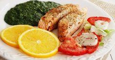 Sublinhado pelo doce e pelas ervas aromáticas e acompanhado com um esparregado caseiro, este prato de peixe transforma a refeição em pura alegria