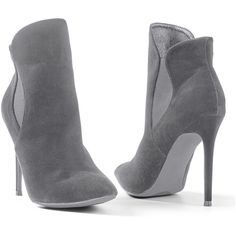 e3c3e1903d9 Venus Women s Faux Suede Pointy Bootie ( 37) ❤ liked on Polyvore featuring  shoes