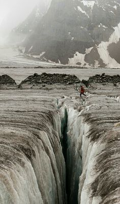 The Biafo Glacier (Urdu: بیافو گلیشیر) is a 67 km (42 mi) long glacier in the Karakoram Mountains of Gilgit Baltistan, Pakistan which meets the 49 km (30 mi) long Hispar Glacier at an altitude of 5,128 m (16,824 ft) at Hispar La (Pass) to create the world's longest glacial system outside the polar regions.