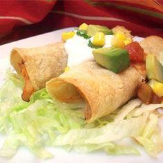 Chicken Flautas - Allrecipes.com