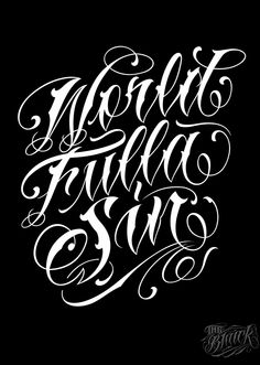 Lettering 4 on Typography Served