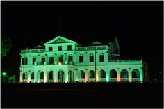 Palace of the President - Suriname, Paramaribo.  Photo by Stuart Vrede