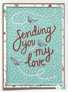 Sending You My Love *Pebbles* - Scrapbook.com