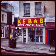 Kabab shop Britain... To get things started here's the glorious Kebab Center in Angel, North London... from K-Shop Director Dan Pringle. #kshopmovie