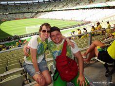 Brasil X México - Copa das Confederações em Fortaleza - Diz Aí Gi