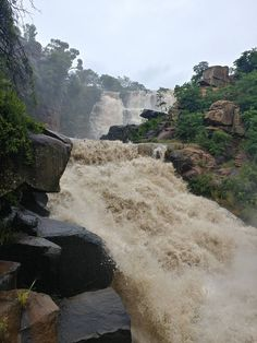 Ncandu Falls- Newcastle, South Africa 14/01/2017 Grand Canyon, Mood, Paint, Landscape, Water, Travel, Outdoor, Ideas, Continents