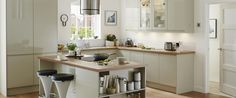 Clerkenwell Gloss Flint Grey | Kitchens | Pinterest