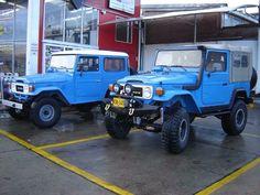 Two Nice FJ40's in Blue