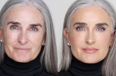 How To Give Your Skin A Dewy and Resilient Glow - Better After 50 Dewy Makeup, Beauty Makeup Tips, Natural Makeup, Beauty Hacks, Beauty Products, Beauty Care, Hooded Eye Makeup Tutorial, Silver Blonde Hair, Grey Hair