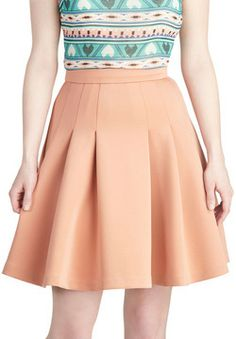 Peach and Every Day Skirt on shopstyle.com