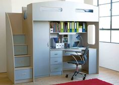 70+ Space Saver Bunk Beds with Stairs - Interior Designs for Bedrooms Check more at http://imagepoop.com/space-saver-bunk-beds-with-stairs/