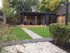 L Shaped Corner Pergola - Pergola Terrasse Jardin - - - Garden Room, Summer House Garden, Backyard Decor, Patio Design, Pergola Lighting, Backyard Pavilion, Pergola Designs, Custom Porch, Modern Garden
