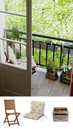 5 mesas plegables perfectas para balcones peque os mesa - Balcones pequenos con encanto ...