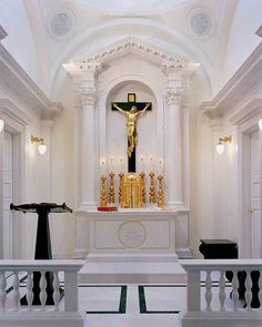 Capela da Sagrada Família, Nebraska / Projeto do arquiteto Duncan Stroik