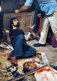 Martin Scorsese while shooting the climax in Taxi Driver