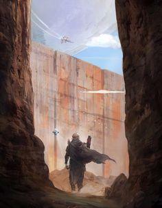 Destiny 2 Illustration - Created by Johann Blais Destiny Gif, Destiny Hunter, Destiny Bungie, Destiny Warlock, Fantasy Warrior, Sci Fi Fantasy, Light Of Life, Light In The Dark, Too Funny