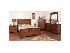 Shop+for+Sunny+Designs+Headboard,+2333DC-QH,+and+other+Bedroom+Beds+at+I.+Keating+Furniture+in+Minot,+Bismarck,+Dickinson+and+Williston,+ND.+Genuine+Slate,+Distressed+Mindi+Solids+and+Veneers.+Full+extension+drawer+slides.+Full+Extension+Ball+Bearing+Drawer+Glides.+Beveled+mirror.