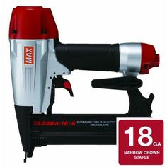 MAX 1/4 in. Narrow Crown Stapler-TA238A/18-6 at The Home Depot