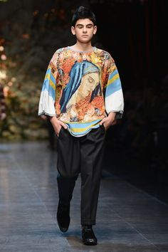 Crazy Fashion From the Men's Runway Shows | Fall 2013 Photo 106