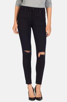 'Alana' High Rise Crop Jeans (Offbeat)